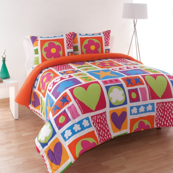 Agatha Ruiz de la Prada Icon Patch Cotton Comforter Set