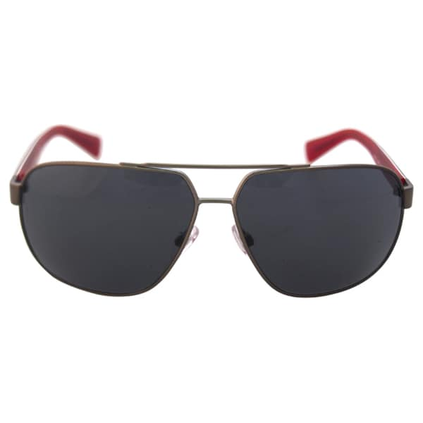 Dolce & Gabbana DG 2140 125087 - Matte Gunmetal by Dolce & Gabbana for Men - 63-12-130 mm Sunglasses
