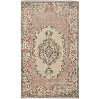 eCarpetGallery Sunwash Ivory Wool Hand-knotted Anatolian Rug (4'8 x 7'11)