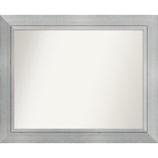Wall Mirror Choose Your Custom Size Medium, Romano Silver Wood