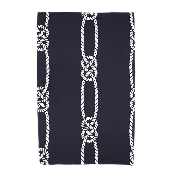 30 x 60-inch Tom Foolery Stripe Print Beach Towel
