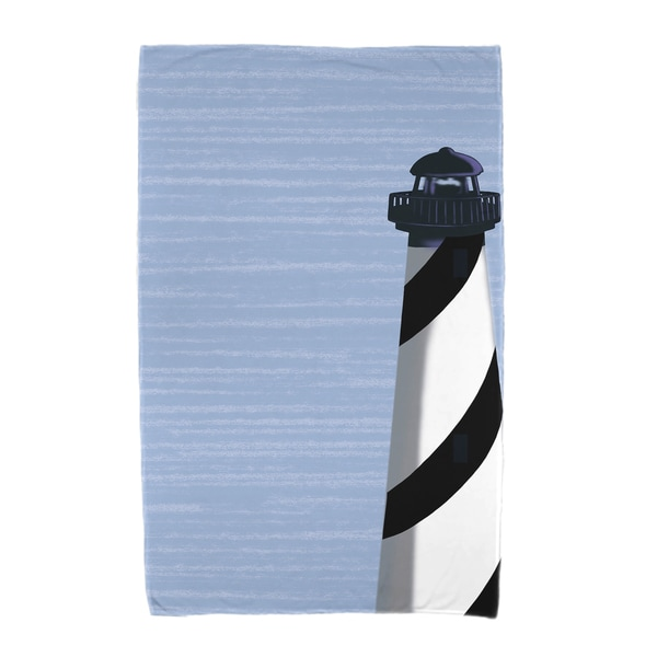 30 x 60-inch Light House Geometric Print Beach Towel