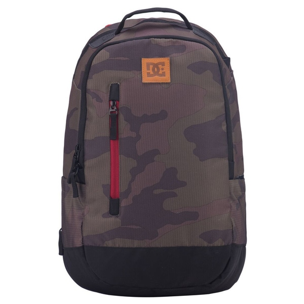DC Trekker Camo Polyester 15-inch Laptop Day Pack Backpack