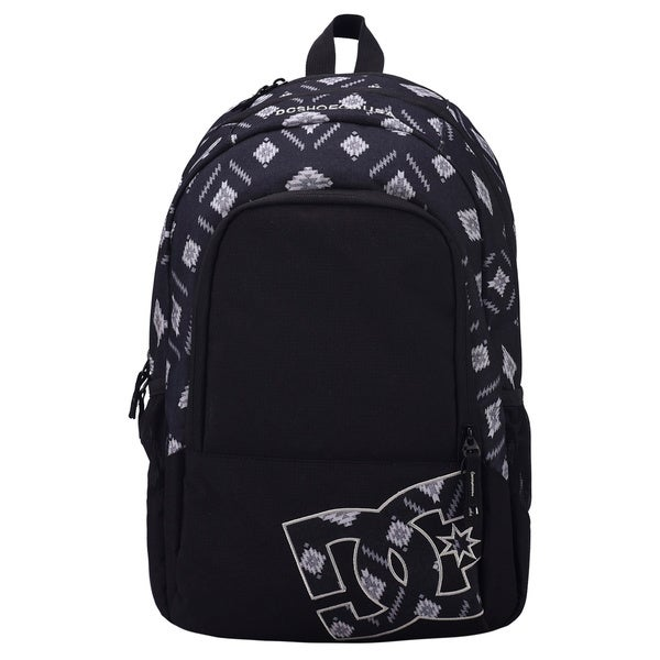 DC Detention Ethnic Black 15-Inch Laptop Day Pack Backpack