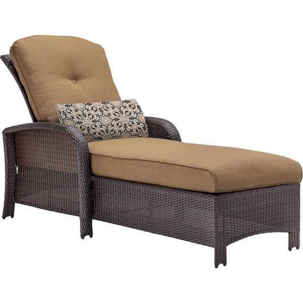 Hanover Outdoor Strathmere Country Cork Chaise Lounge Chair