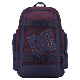 DC Wolfbred Blue Polyester Laptop Backpack