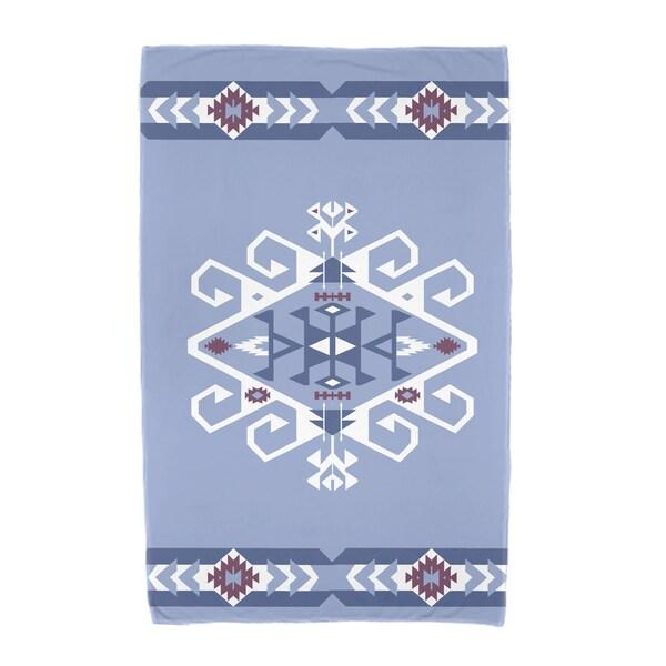 30 x 60-inch Jodhpur Border 3 Geometric Print Beach Towel