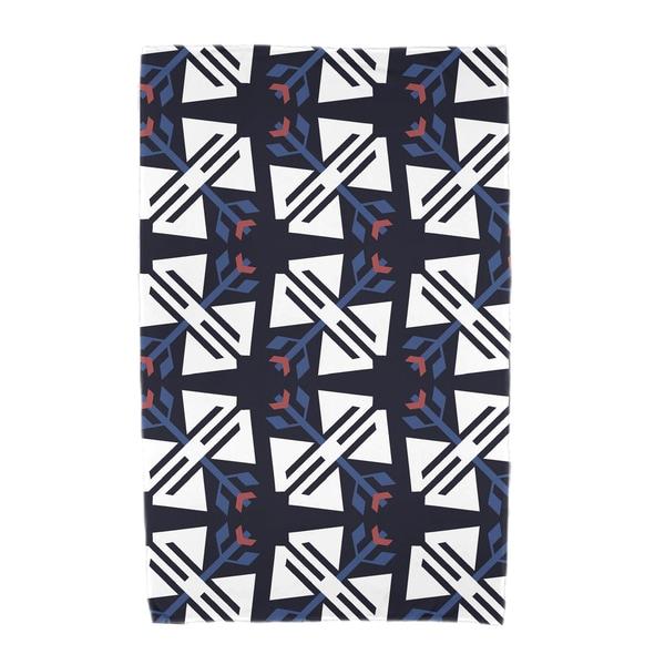 30 x 60-inch Jodhpur Ditsy Geometric Print Beach Towel