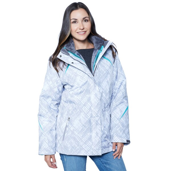 BELOW ZERO Water and Wind Resistant Systems Anorak
