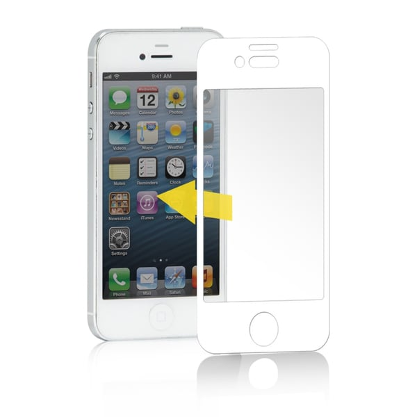Pilot Automotive Color-framed LCD Screen Protector Film Cover for Apple iPhone 5/ 5s