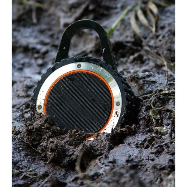 ALL-Terrain Sound Black, Brown, Green, Grey, Orange Plastic Waterproof Bluetooth Speaker