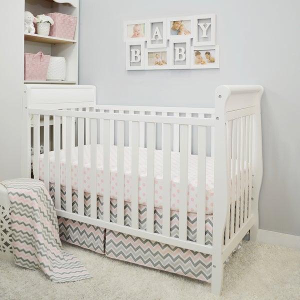 Baby Chevron Crib Bedding Set