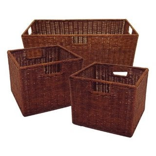 Leo Set of 3 Wired Baskets