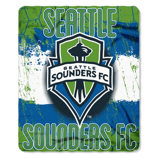MLS 031 Seattle Sounders Fleece Throw