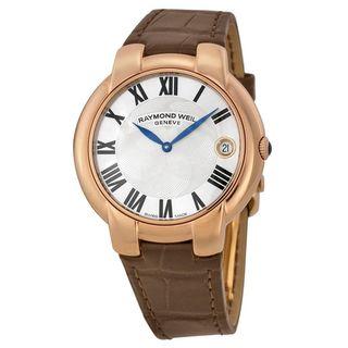 Raymond Weil Women's 5235-PC5-01659 'Jasmine' Brown Leather Watch