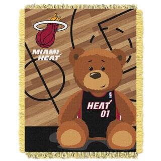 NBA 04401 Heat Half Court Baby Throw
