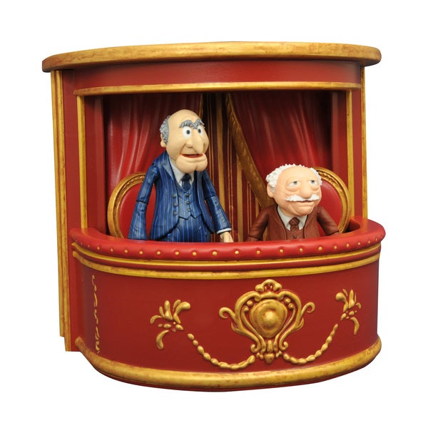 Diamond Select Toys Muppets Statler and Waldorf Multicolored Plastic Action Figure 19335856