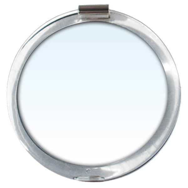 Rucci 5x Magnification Acrylic Lucite 1 Suction Cup Mirror and 3-in-1 Compact Mirror 19335858