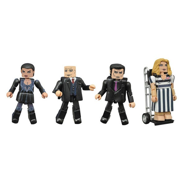 Diamond Select Toys Gotham Minimates Series 3 Multicolor Plastic Box Set 19335912