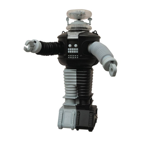 Diamond Select Toys Lost In Space B9 Electronic Robot Antimatter Version