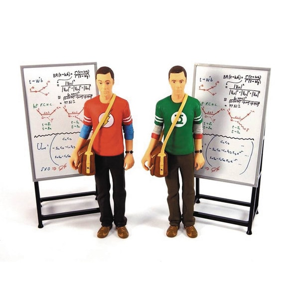 SD Toys Big Bang Theory Sheldon Cooper Red Flash Shirt 7-inch Action Figure 19336005