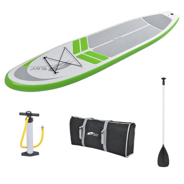 Zray SUP 6-inch Thickness 12-foot Inflatable Stand-up Paddleboard Set with Pump, Paddle, Packback Bag