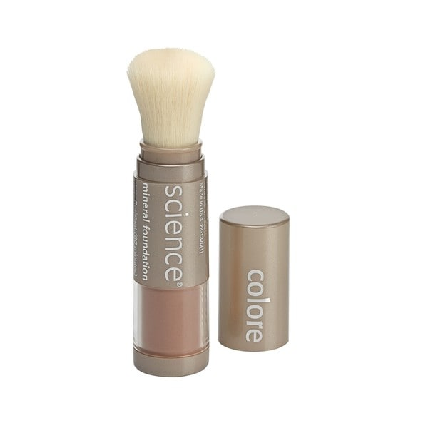 Colorescience Loose Mineral Foundation Brush SPF 20 Taste of Honey