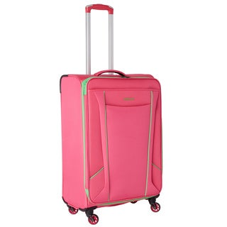 American Tourister by Samsonite Skylite Raspberry/Lime 68086-4814 25-inch Spinner Upright Suitcase