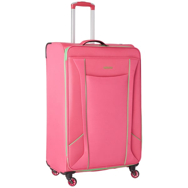 American Tourister by Samsonite Skylite Raspberry/Lime 29-inch Spinner Upright Suitcase