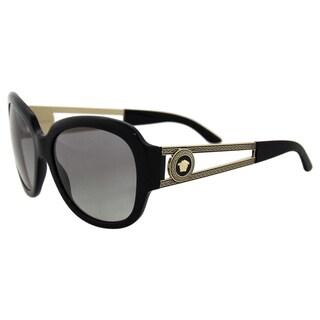Versace VE 4304 GB1/11 - Black/Grey by Versace for Women - 57-17-135 mm Sunglasses