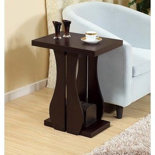 Elena 16925 Brown MDF Chairside Table