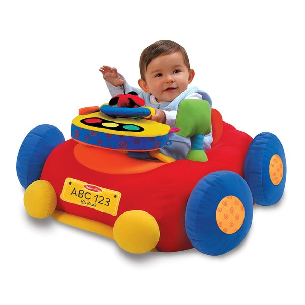 Melissa & Doug Beep-Beep & Play Activity Center Baby Toy 19336871