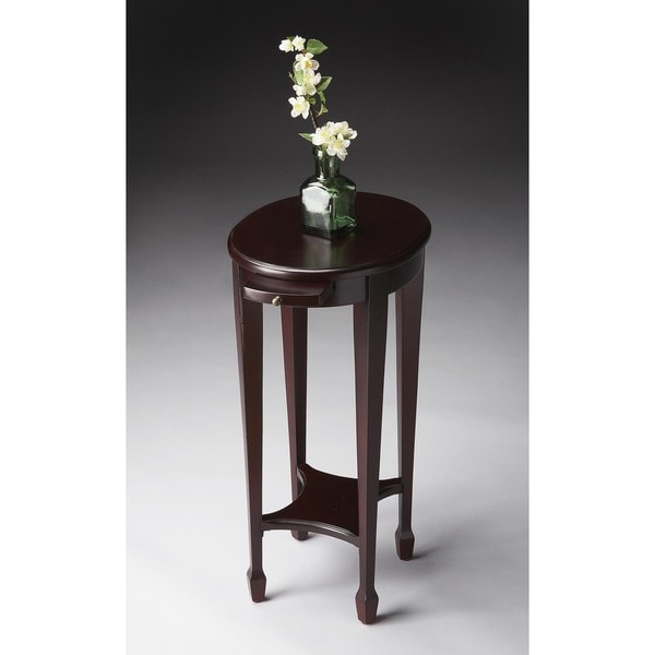 Handmade Butler Arielle Cordovan Brown Wood End Table (China) 19336889