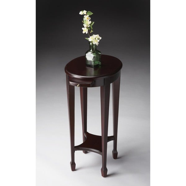 Butler Arielle Cordovan Brown Wood Accent Table 19336889