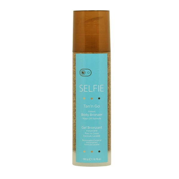 Selfie Tan'n Go Instant 6.78-ounce Body Bronzer Wash Off