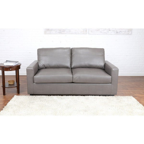 Bonded Leather Sleeper Pull Out Sofa And Bed 18938518 Shopping Great Deals