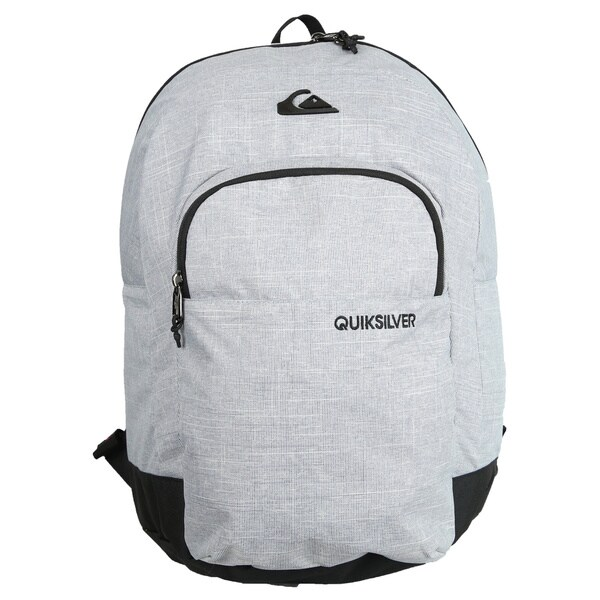 Quiksilver Everyday Dart Heather Grey Polyester 15-inch Laptop Day Pack Backpack