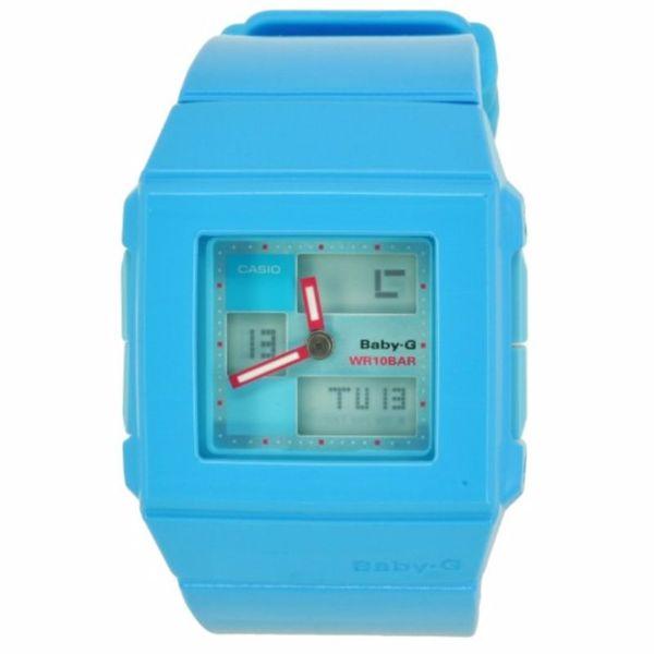 Casio Women's BGA-200-2E Baby-G Blue Watch