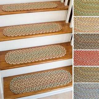 Cozy Cove Reversible Stair Treads (Set of 4)