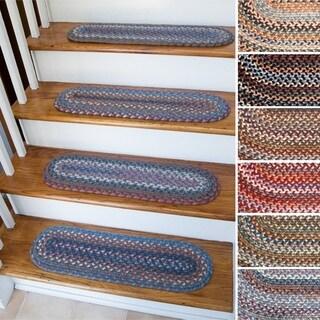 Augusta Wool Reversible Stair Treads (Set of 4)