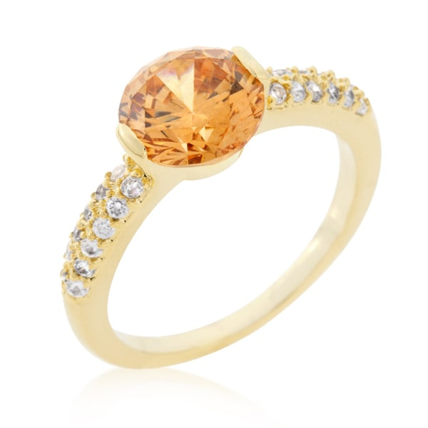 Kate Bissett Champagne Isabelle Engagement Ring