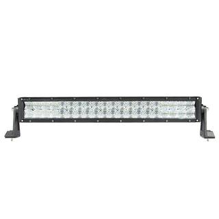 Black CREE Spot and Flood Straight Offroad Truck LED Light Bar