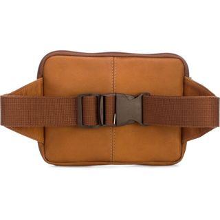 Le Donne Tan/Black/Brown Leather Journey Waist Bag