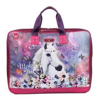 Nicole Lee Aleena Unicorn 38-inch Garment Bag