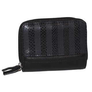 Buxton Shimmering Stripes Wizard Wallet