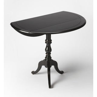 Butler Theodore Black Licorice Drop-leaf Hall Table