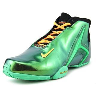 Nike Men's Zoom HyperFlight Green Patent Leather Athletic Shoe