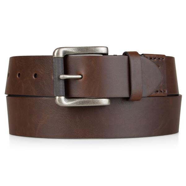 Levi's Mens Bonded Leather 40 mm Cut Edge Belt