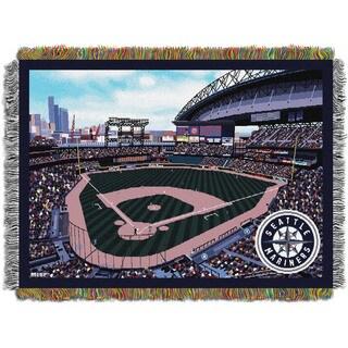 MLB 051 Mariners Safeco Park Stadium Throw