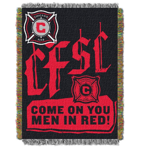 MLS 051 Chicago Fire Handmade Throw
